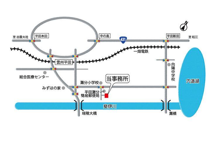 事務所略地図